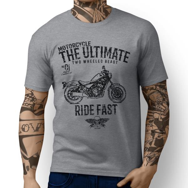 JL Ultimate Victory Vision inspired Motorbike Art T-shirts