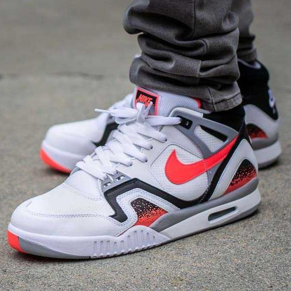 Details about Nike Air Tech Challenge 2 Hot Lava (2019) White Size 8 9 10 11 12 Mens Shoes Max