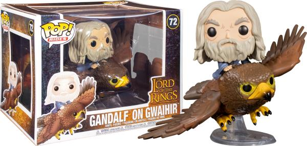 Lord Of The Rings Pop Rides Vinyl Figure Gandalf On Gwaihir *BRAND NEW*