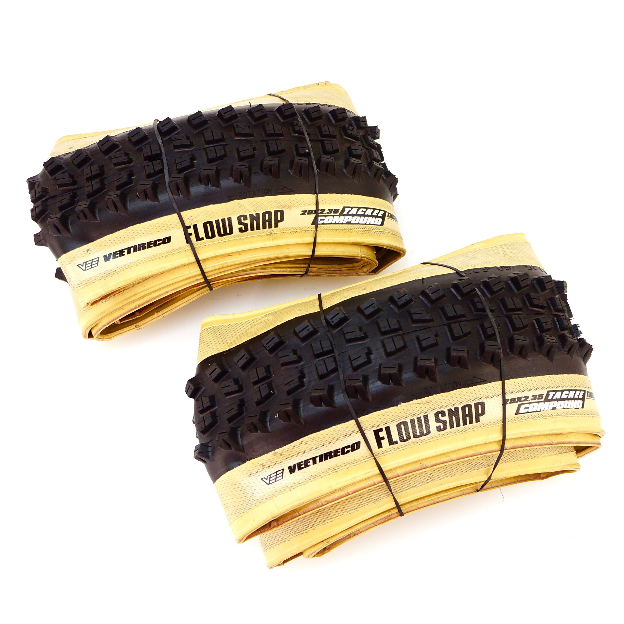 Vee Tire 29 x 2.35 Snap Wce Top 40 MTB Bike TLR Tubeless Ready 1 or 2 Tires