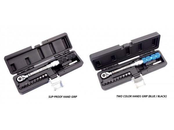 """RESQ Tool Pro 1//4/"""" inch drive Torque Wrench 2-25Nm 22-225 in//lb Adjustable Gauge"""