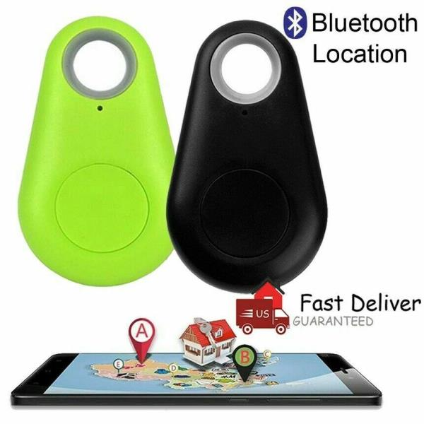 Kindes Bluetooth Anti-Lost Device Key Luggage Tracking Object Finder Alarm Running GPS Units
