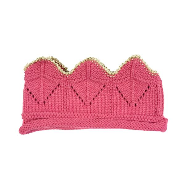 Wrapables Baby Boy /& Girl Birthday Party Knitted Crown Headband Beanie Cap Hat