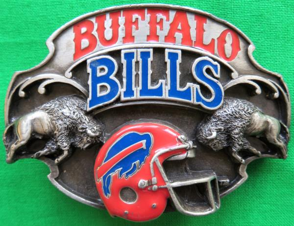NFL Football Buffalo Bills Belt Buckle