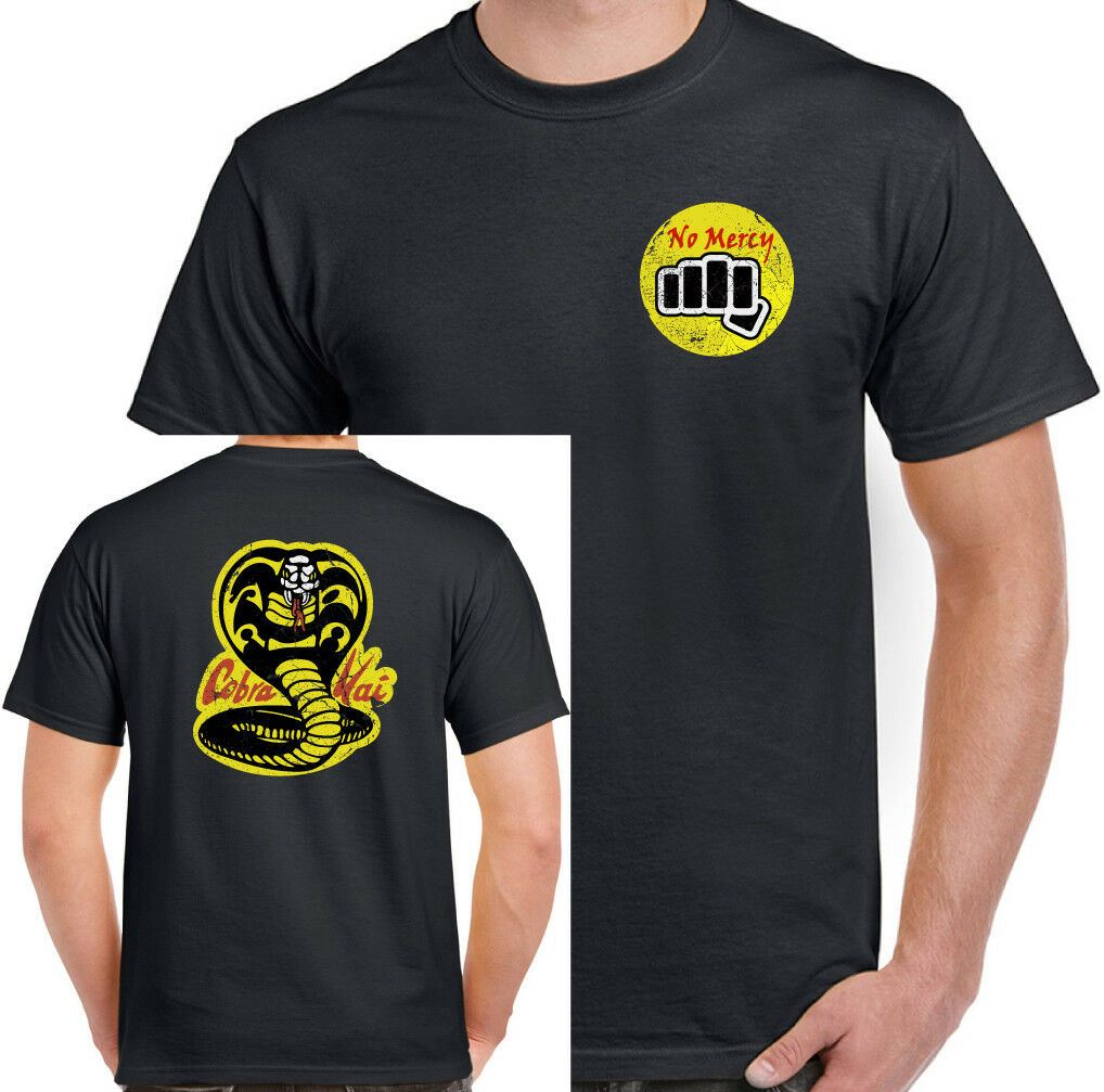 COBRA KAI Karate Kid Sweep The Leg Kung Fu MMA mr miyagi LONGSLEEVE T-SHIRT