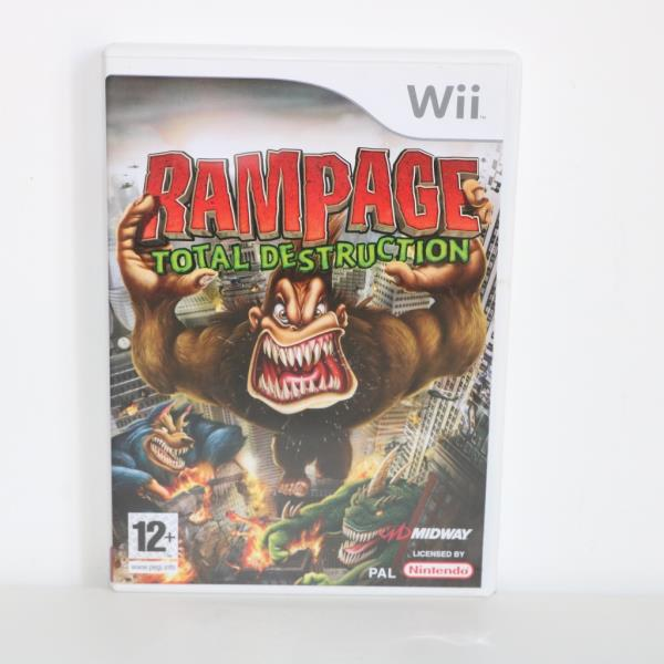 rampage total destruction wii review