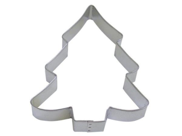 """Christmas Tree Cookie Cutter 5/"""" Holiday Decoration Baking Pine Wood Pastry Cut"""