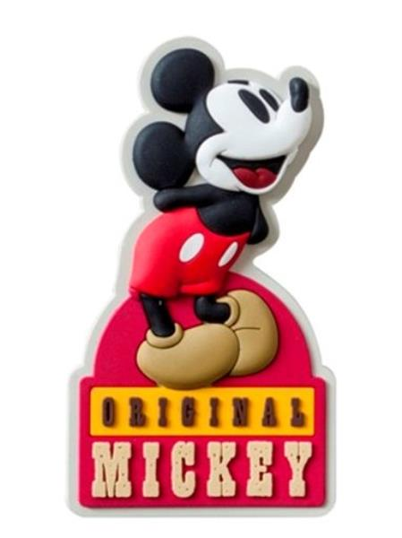 Walt Disney Retro Original Mickey Mouse Soft Touch PVC Refrigerator Magnet NEW