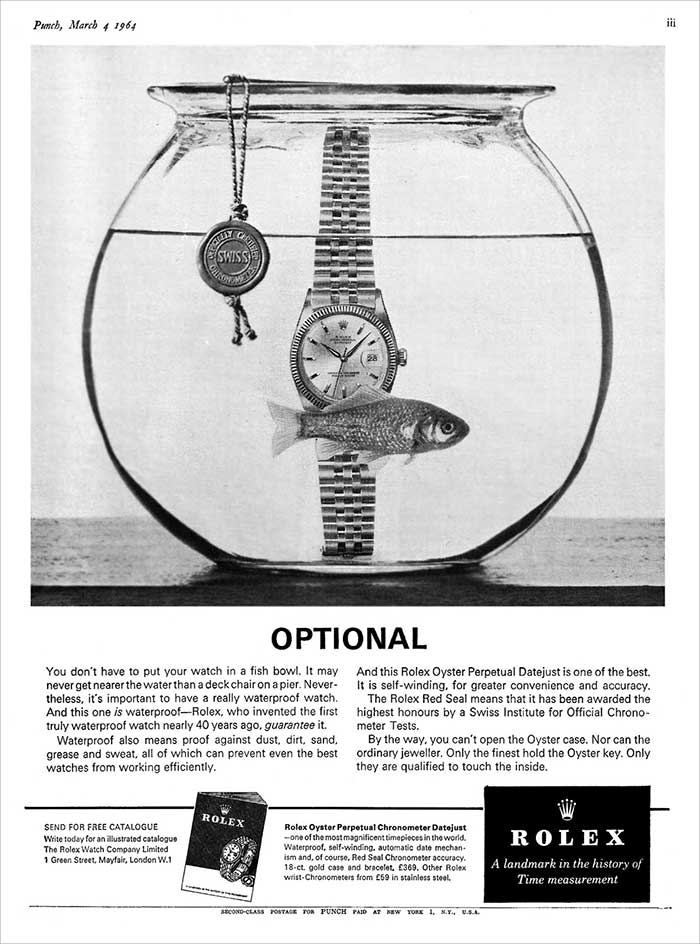 Experts Watches Rolex Oyster AD