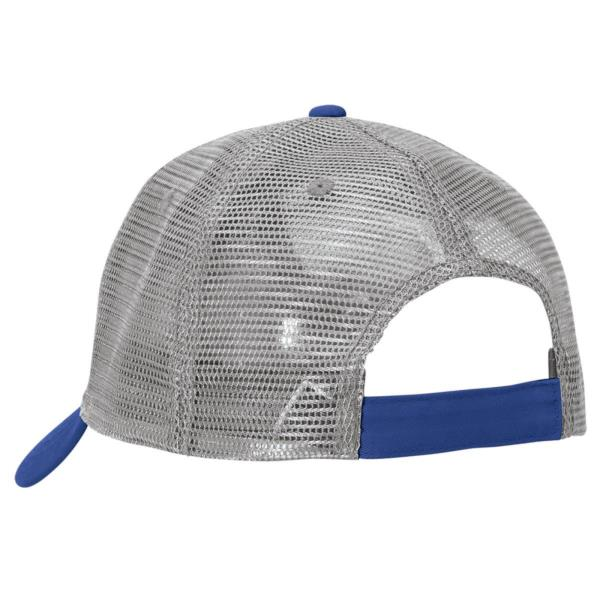 Plain Lo-Pro Mesh Trucker Caps6 Panels Cotton Nylon Contrast Colours Headwear