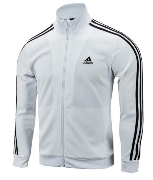 Details about Adidas Climaproof Mens Blue 3 Stripe Full Zip Vented Athletic Track Jacket L