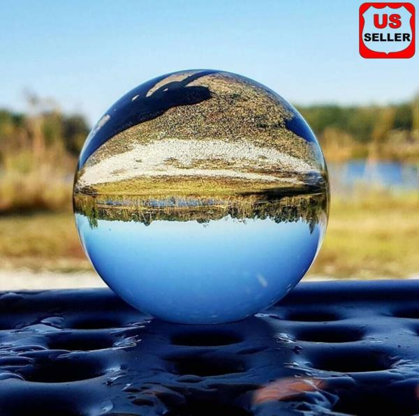 60mm Photography Crystal Ball Sphere Decoration Lens Photo Prop Lensball Clear Ebay