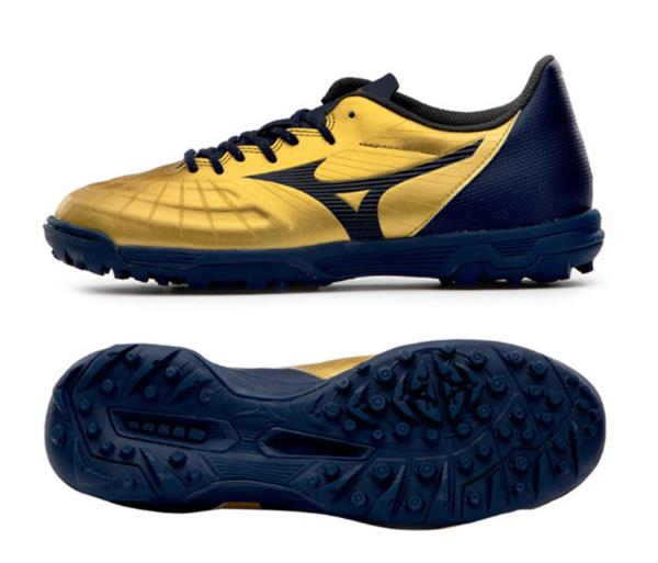 mizuno mens running shoes size 9 youth gold white navy