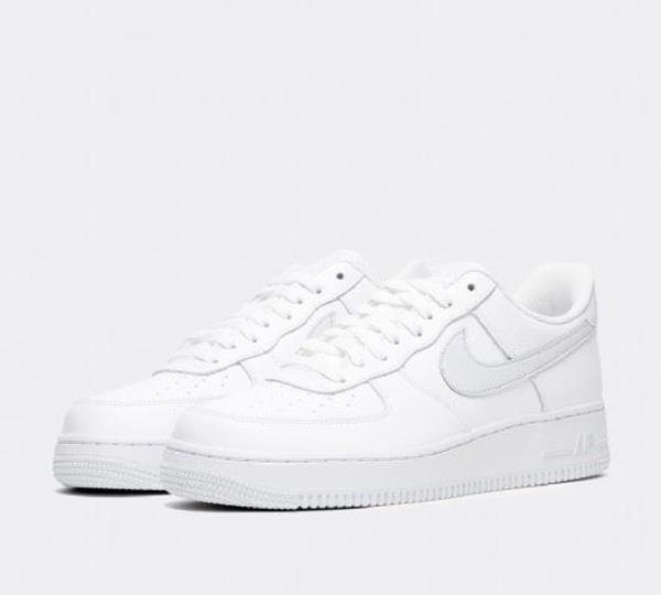 Nike Men's Air Force 1 Shoes, White, 11