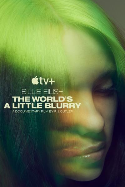 Reproduction Billie Eilish The World/'s a Little Blurry Poster