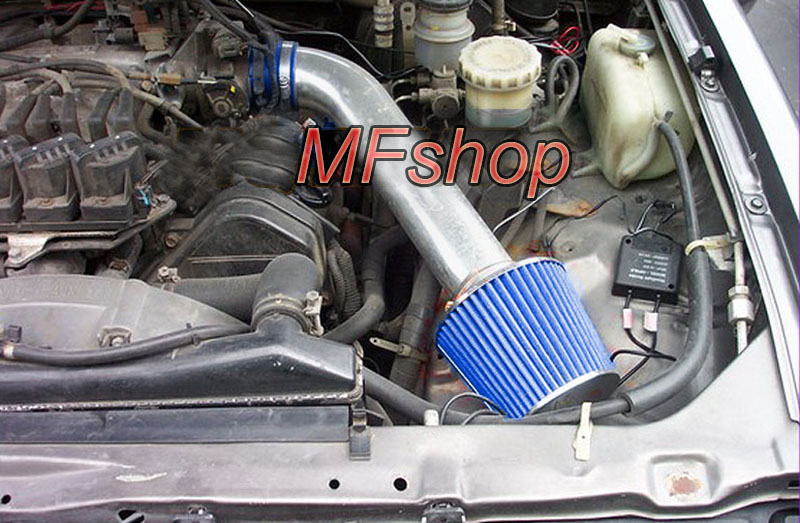 BLUE RED 1993-1995 ISUZU RODEO TROOPER 3.2 3.2L SOHC V6 AIR INTAKE KIT SYSTEMS