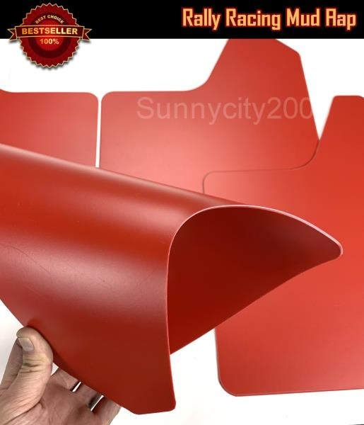Red Rally Bavettes splash guards Fits DS DS5