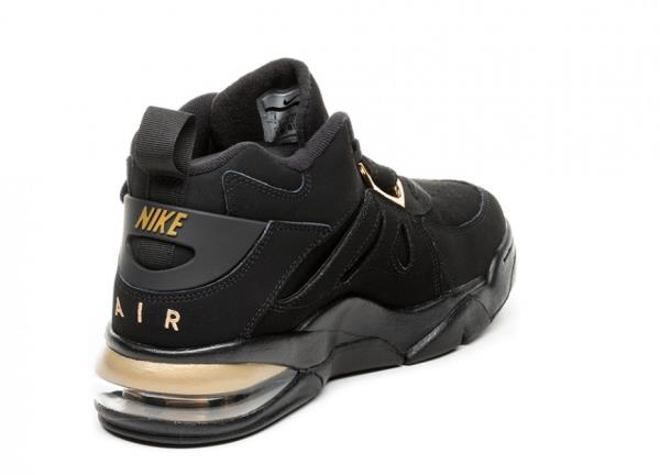 Nike Air Force Max CB Black Metallic Gold AJ7922 001 Release