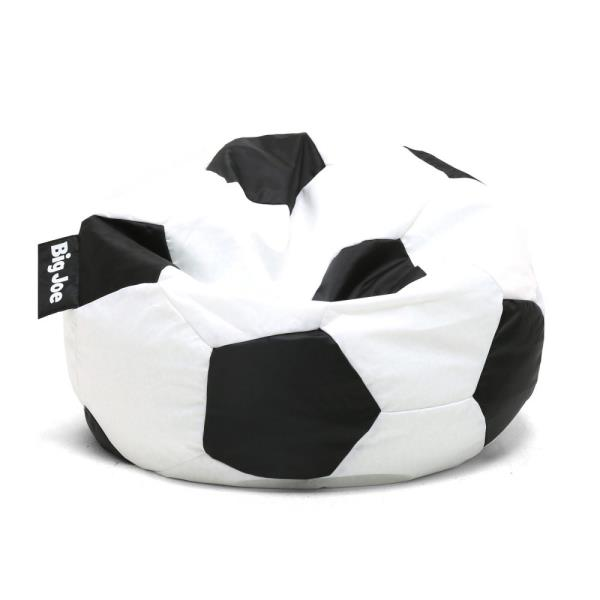 Awe Inspiring Details About Kids Soccer Ball Bean Bag Seat Gaming Chair Black White Fabric Sports Heavy Duty Alphanode Cool Chair Designs And Ideas Alphanodeonline