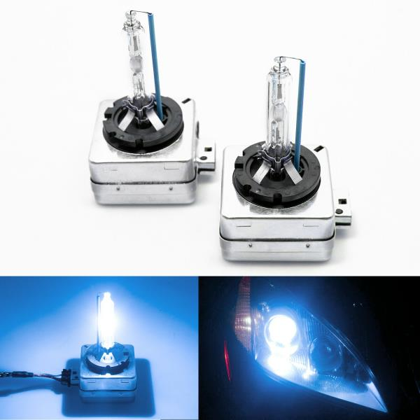 4300k 6000k 8000k Colours NEW D3S HID Xenon Bulbs OEM Direct Replacement PAIR
