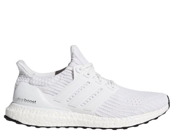100% genuine the best attitude biggest discount Details about [BB6168] Mens Adidas UltraBoost Ultra Boost 4.0 Running Shoe  Triple White