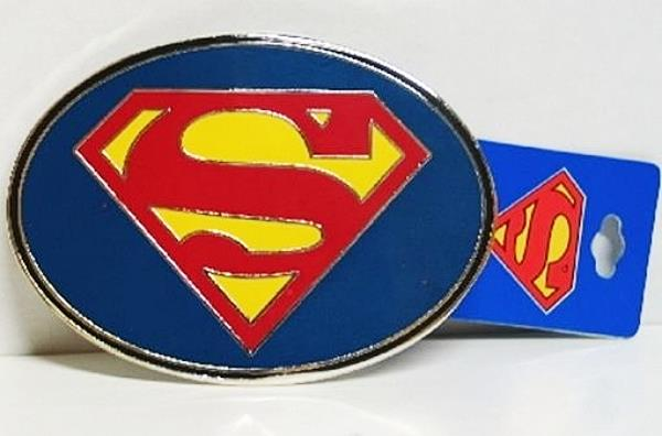 2014 NEW UNUSED DC Comics Superman Man of Steel Movie S Chest Logo Belt Buckle
