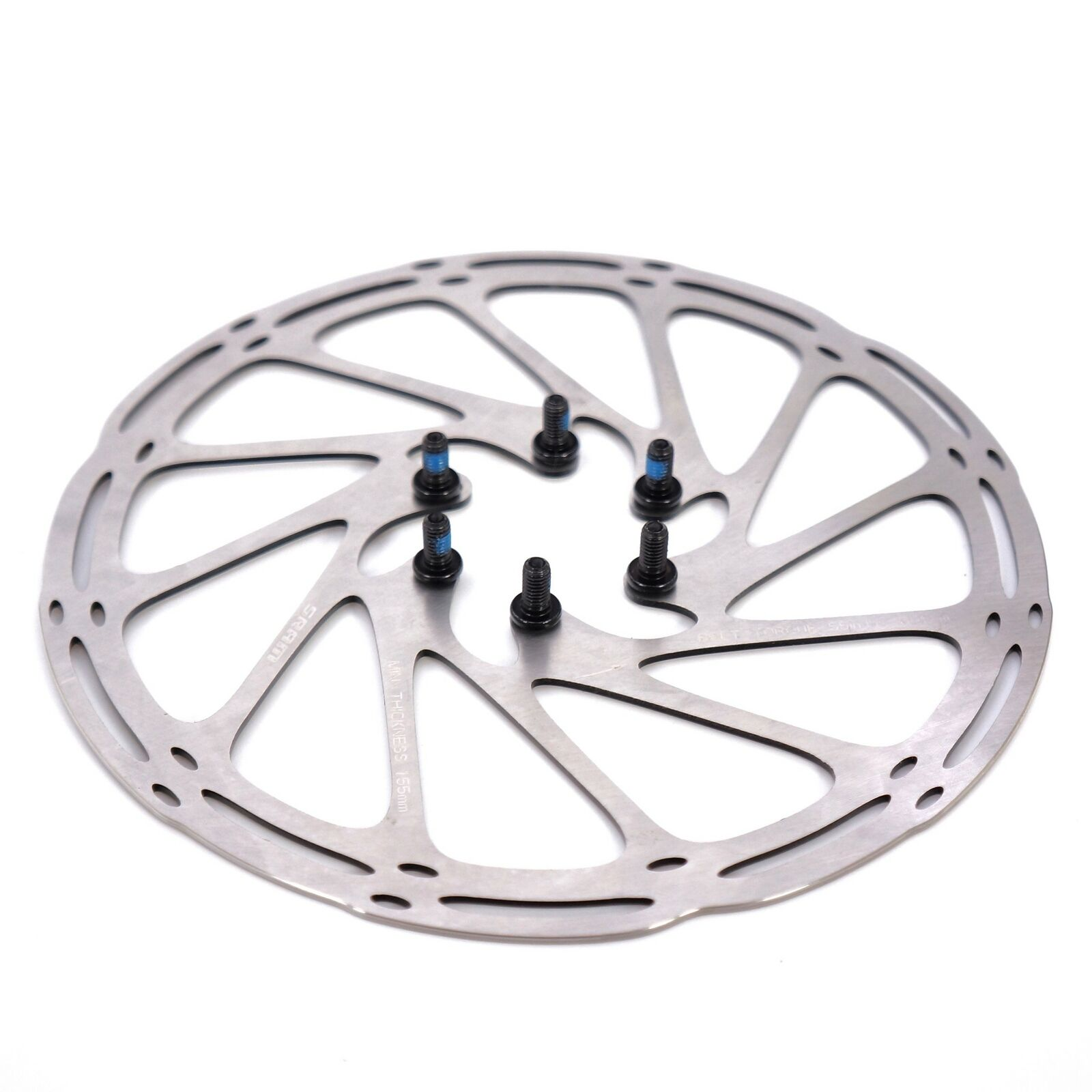 160mm 180mm MTB Mountain Road Bike Bicycle 6-Bolt Centerline Steel Brake Disc
