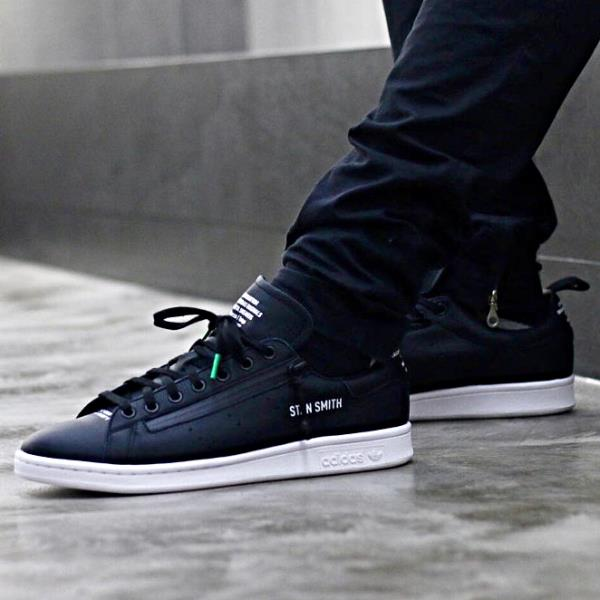 new arrivals official online here Details about Adidas Consortium X Mita Stan Smith Sneaker Black Size 8 9 10  11 12 Mens NMD New