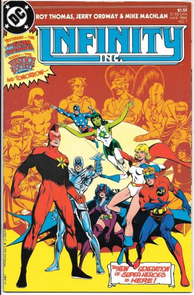 Comic Book #37 DC Comics 1987 VERY FINE NEW UNREAD Inc Infinity