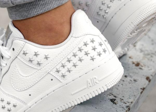 air force 1 white womens size 9