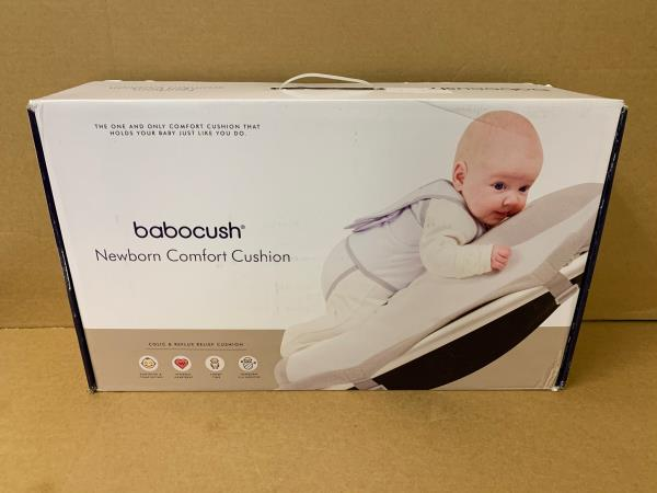 Babocush Newborn Comfort Colic /& Reflux Relief Cushion Pillow for Tummy Time
