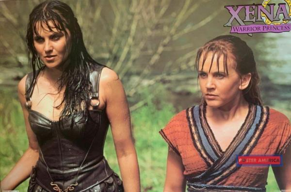 Xena Photo Club Mar 2009~Lucy Lawless~Xena imagining baby/'s future~Gorgeous/&RARE