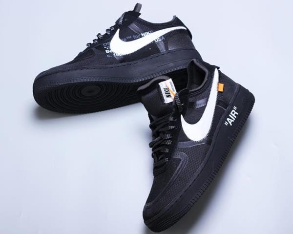 Nike Air Force 1 Low Off White Black White Size 8 9 10 11 12 Mens