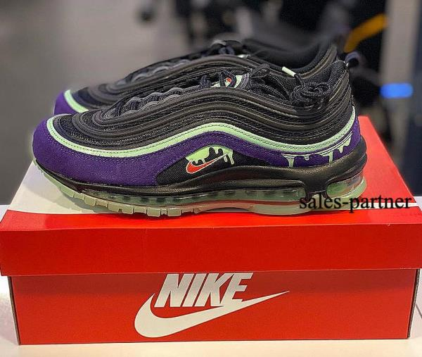 Details about Nike Air Max 97 Slime Green Purple Halloween size 8-12 Mens  Shoes Sneakers new