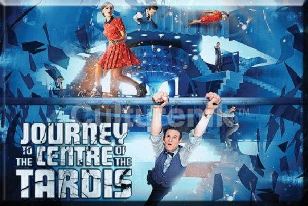 Doctor Who Journey to the Center of the Tardis Episode 2 x 3 Refrigerator Magnet