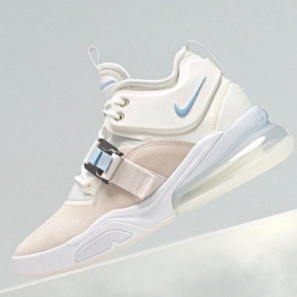 purchase cheap usa cheap sale the sale of shoes Details about Nike Air Force 270 White Blue Feel Big jordan supreme 96 off  og AH6772-003