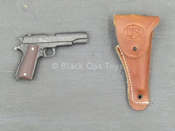 1//6 Scale Toy Spade 4 M1911 Pistol w//Red Handle Detail Chad