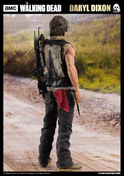 1//6 Scale Toy Daryl Dixon The Walking Dead Gris Pantalon Combat