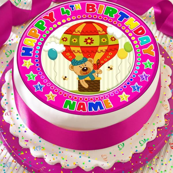 PLANES PERSONALISED PRECUT EDIBLE ICING 7.5 INCH CAKE TOPPER DECORATION