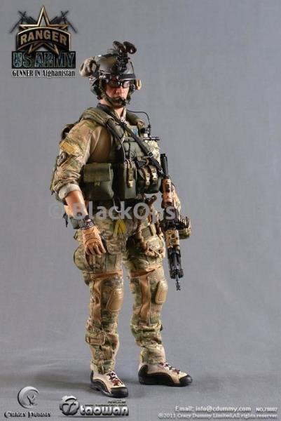 "OD Green  Medical Bag /& Accessories 1//6 Scale Toy US Army Ranger /""Gunner/"""
