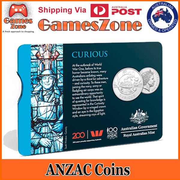 United Free Postage Official 2018 ANZAC Spirit Coin Collection