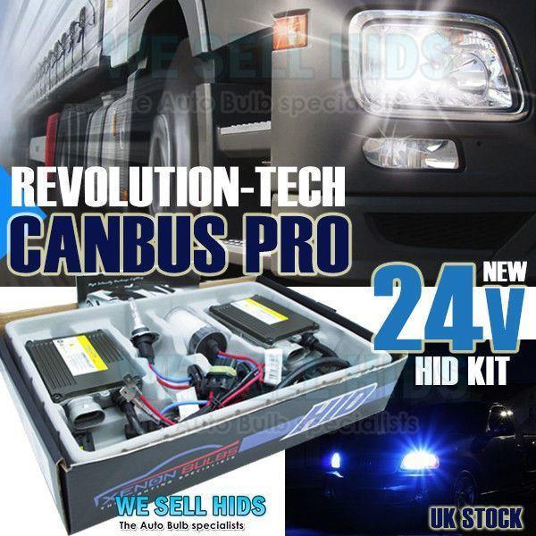 Fits BMW 5 Series E39 2000-2003 H7 H7R Xenon HID Conversion Kit 35W Canbus Pro
