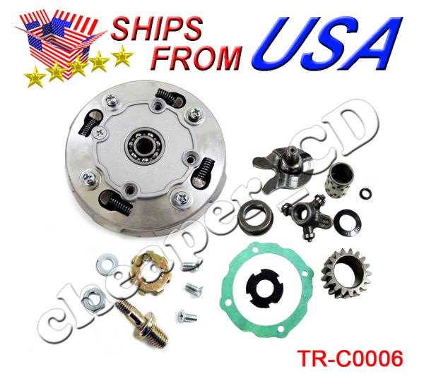 17T Teeth 110cc 125cc 135cc Clutch Semi Auto Engine SunL Peace JCL Roketa Kazuma