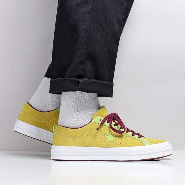 converse one star ox green clearance
