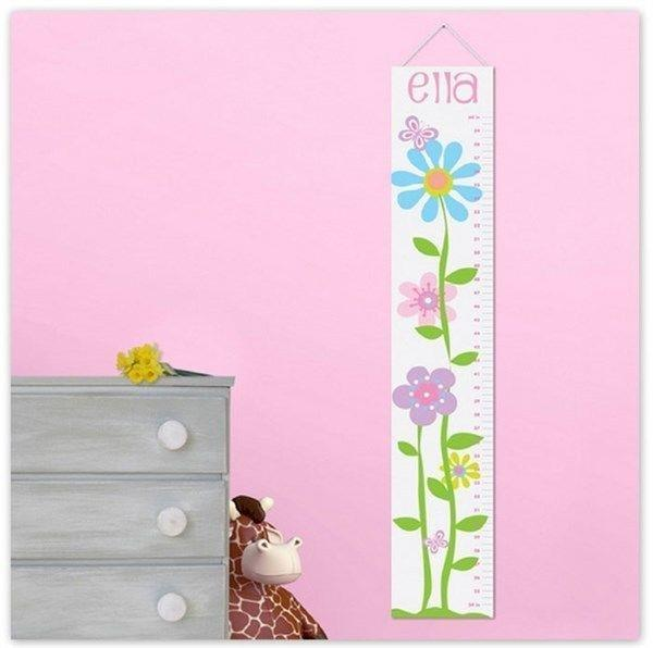 Kids Growth 5 Ft Tall Chart Stick Unfinished Room Daycare Decor Children Height