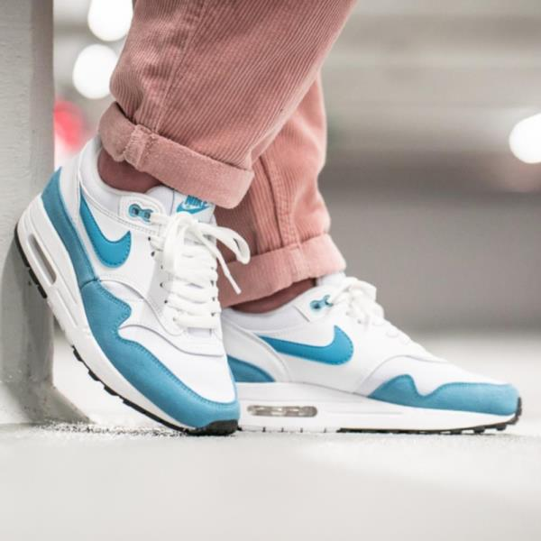 Details about Nike Air Max 1 White Size 6 7 8 9 Womens Shoes Force Presto Vapor React Flyknit