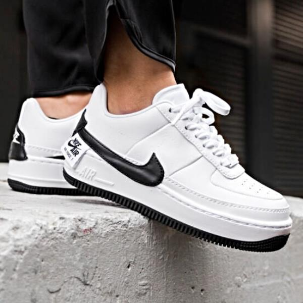 sleek good innovative design Details about Nike Air Force 1 Jester XX Sneaker White and Black Size 6 7 8  9 Womens Shoes New