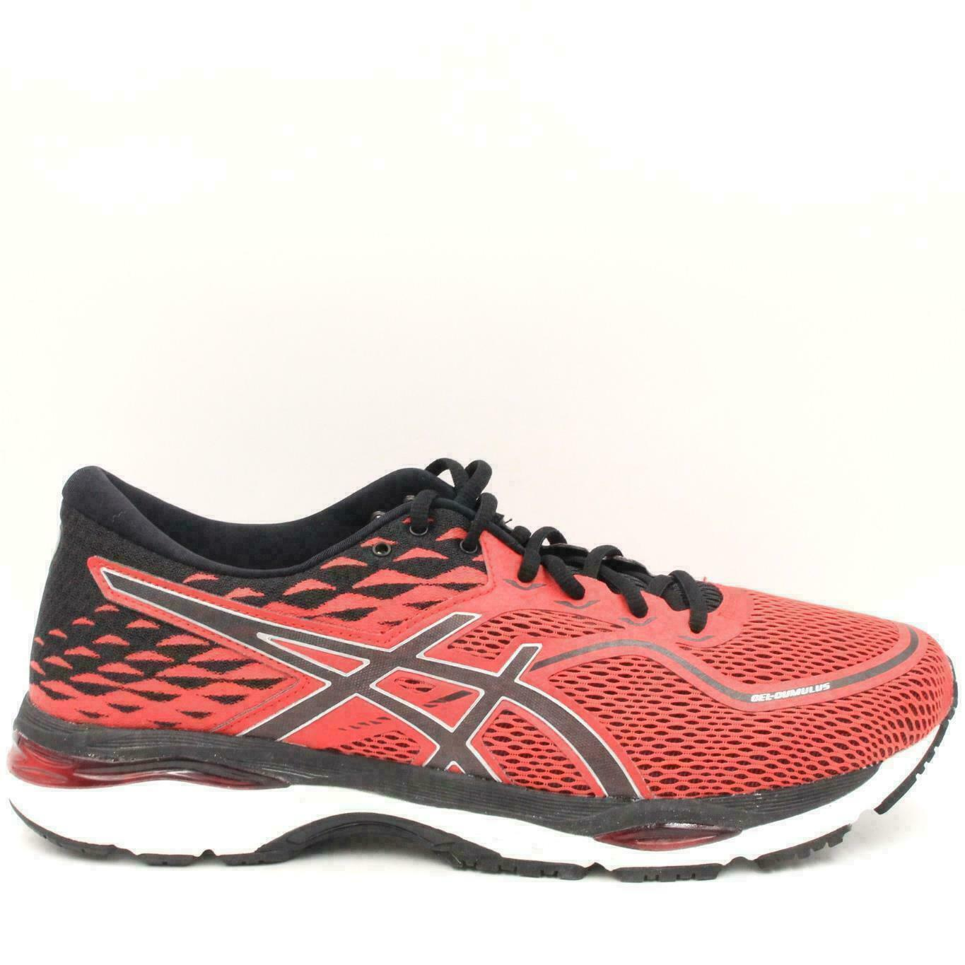 ASICS ASICS Men's Gel Nimbus 18 Running Shoe, RedBlackSilver, 10 D(M) US