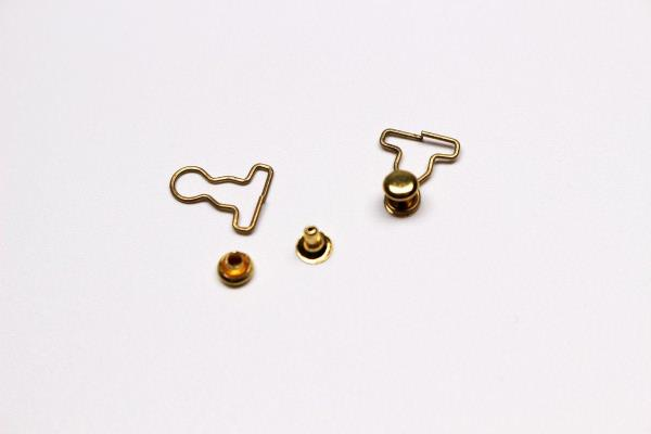 A009S Mini Gold Flowers Doll Sewing Jewelry Craft Supply Blythe Barbie BJD