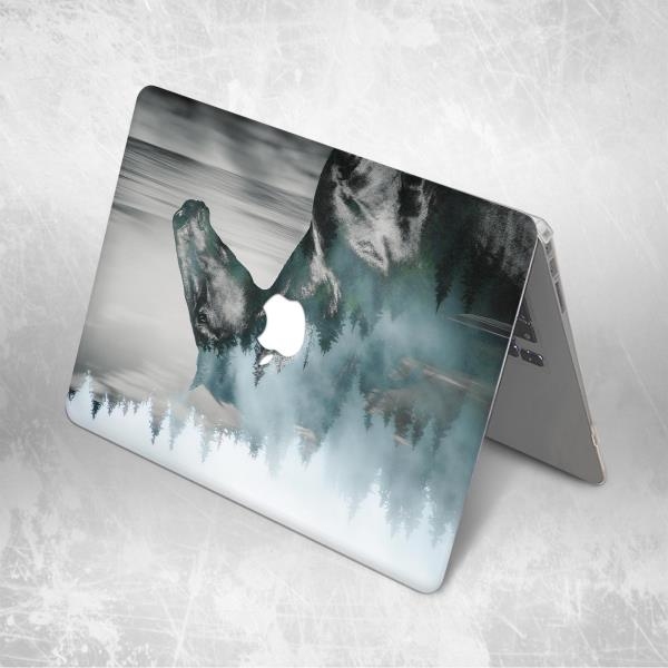 Animal Nature Bear Forest Hard Case Cover Macbook Pro Air Retina 11 12 13 15